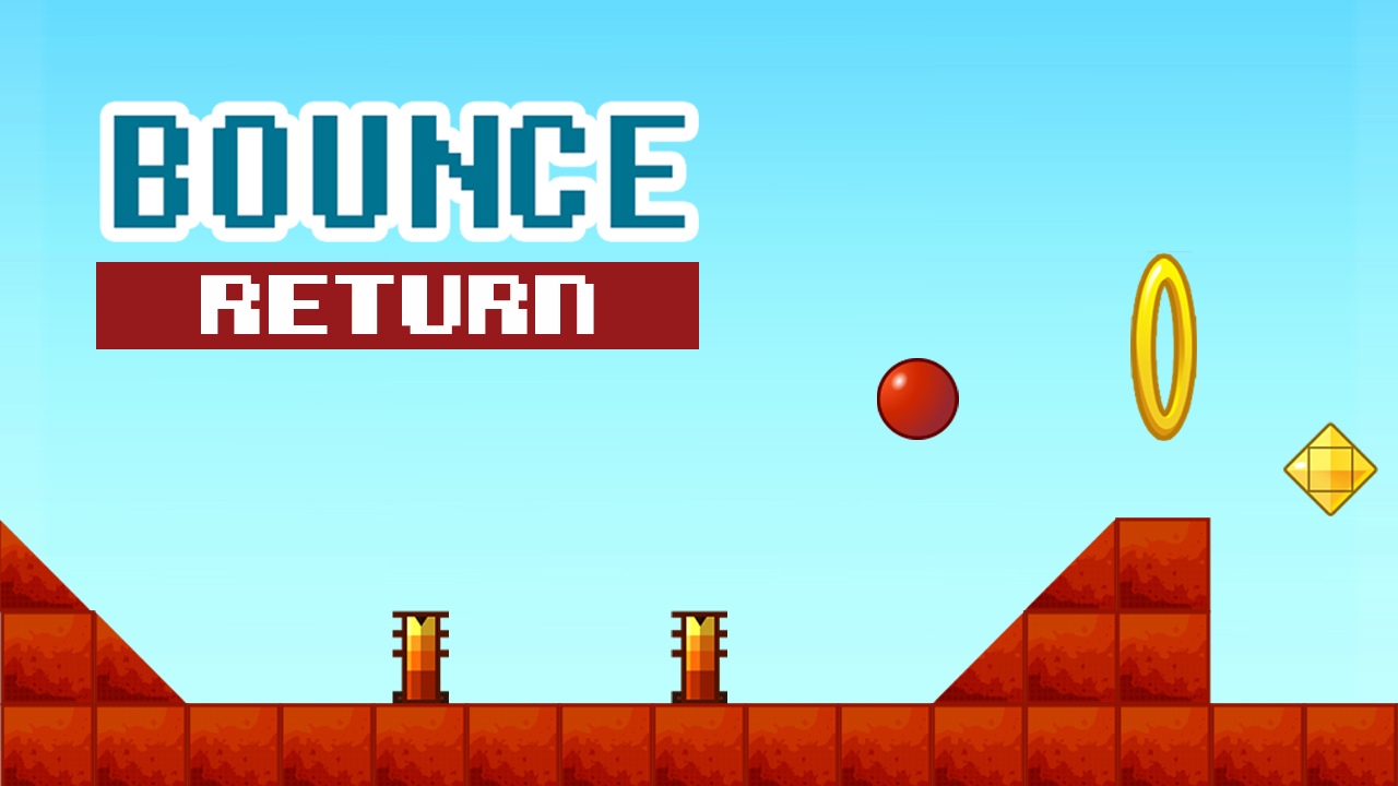 Klasik Bounce Oyunu - Bounce Return