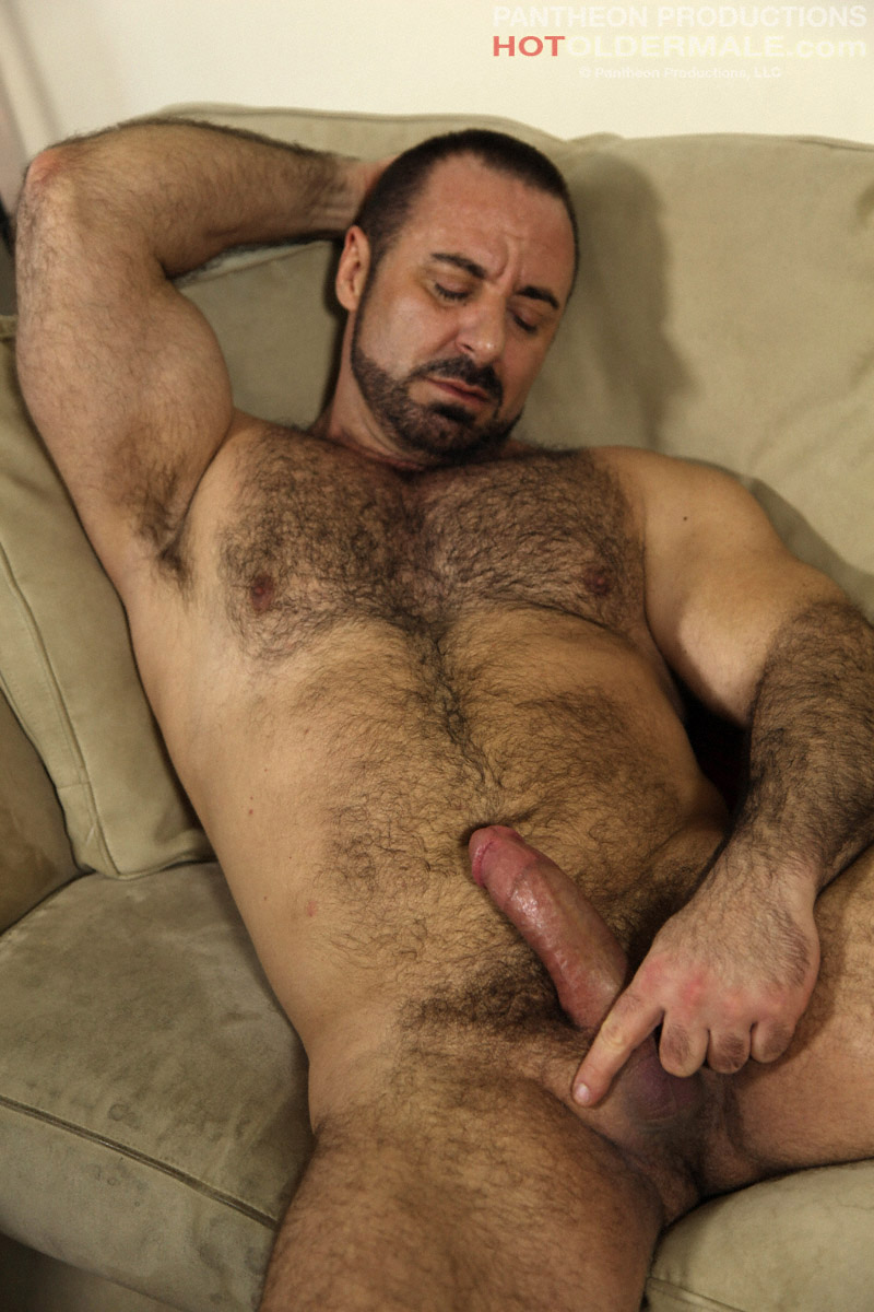 Old Man Gay Mature Over