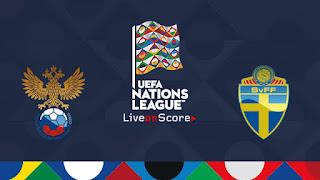 مشاهدة مباراة السويد وروسيا بث مباشر بتاريخ 20-11-2018 دوري الأمم الأوروبية