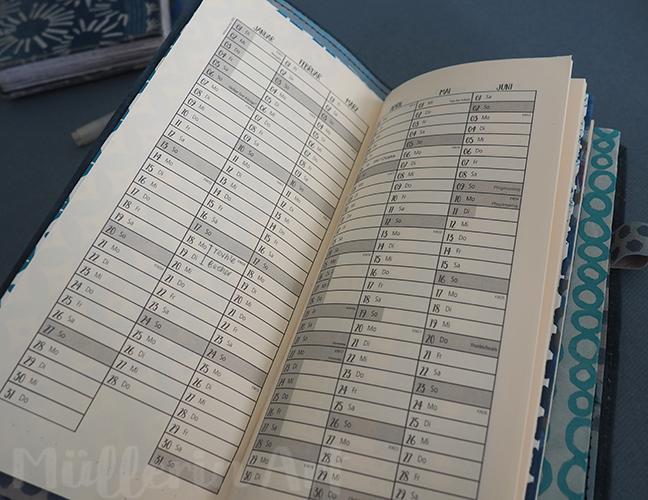 kalender nach ©muellerinart