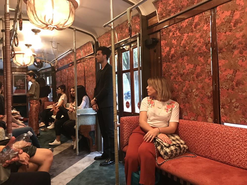 Interiores de tranvías