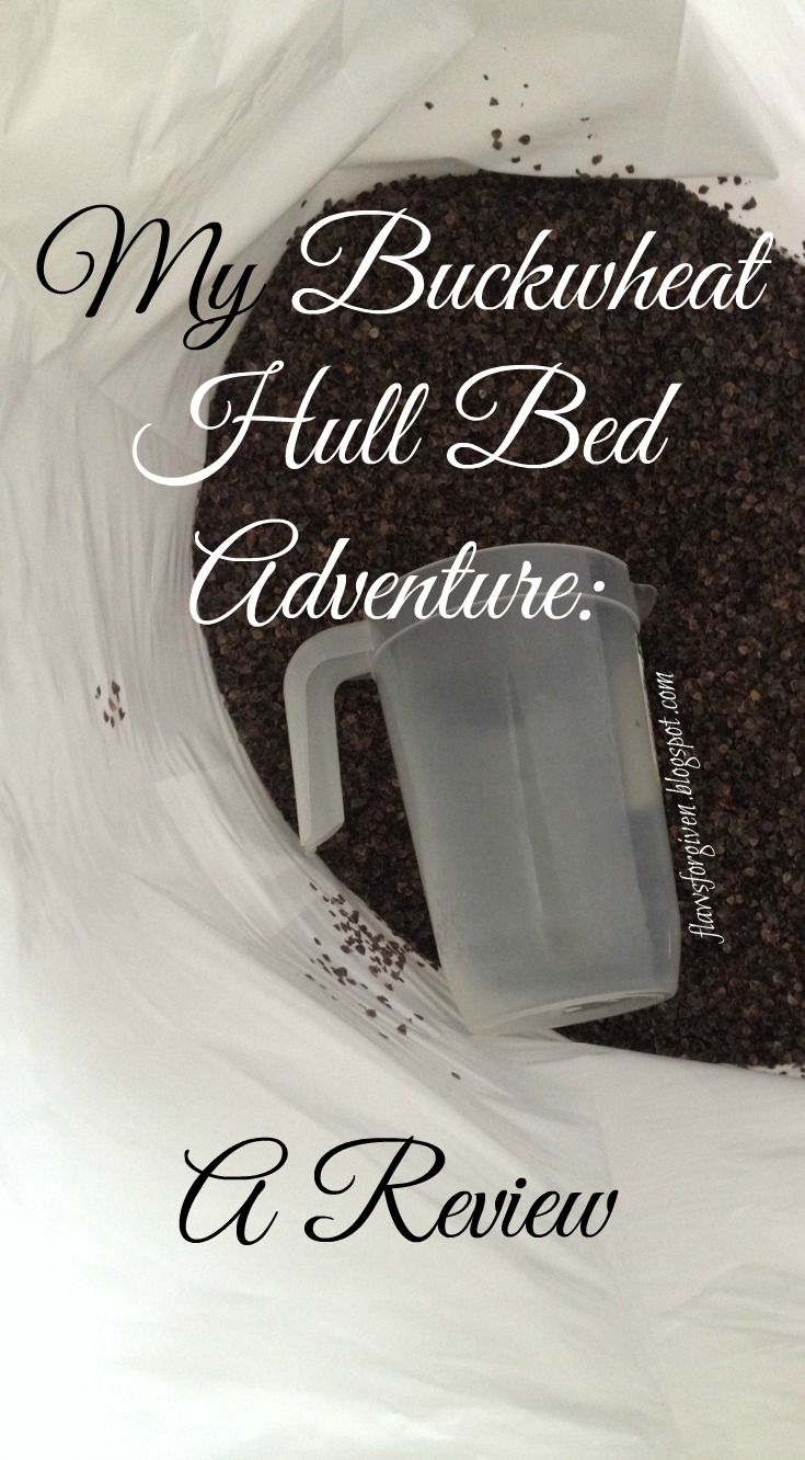 flaws forgiven my buckwheat hull bed adventure a review