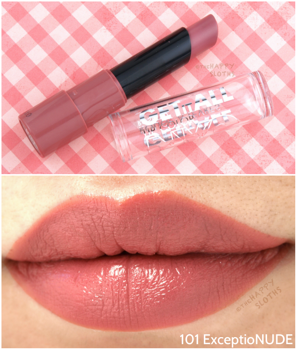 Nyc New York Color Get It All Lip Color Lipsticks Review -9450