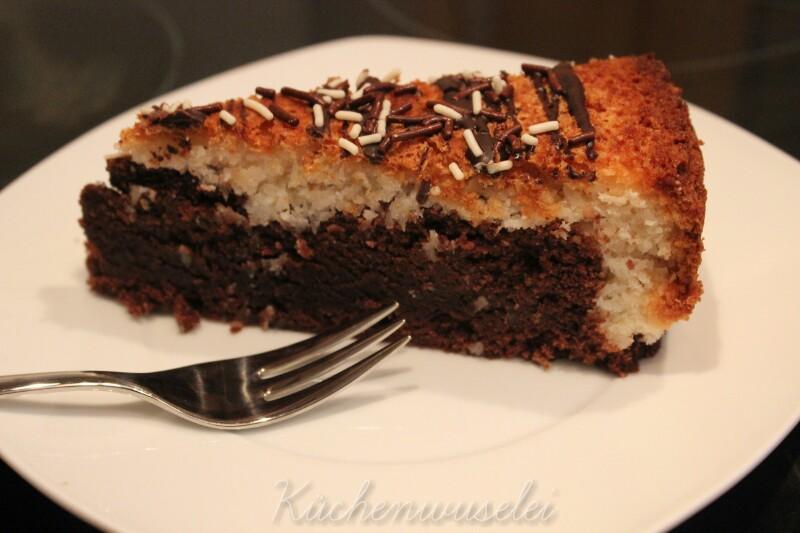 Kuchenwuselei Schoko Kokos Kuchen