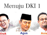 Peta Kekuatan Politik Agus-Slyvia, Ahok-Djarot, Anies-Sandiaga DKI Jakarta
