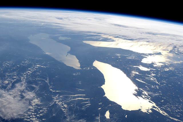 Great Lakes from ISS