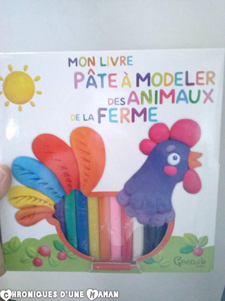 chroniques d une maman mon livre p 226 te 224 modeler des animaux de la ferme giveaway
