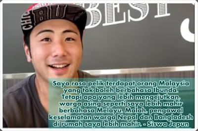 Warga Asing Cakap Bahasa Melayu
