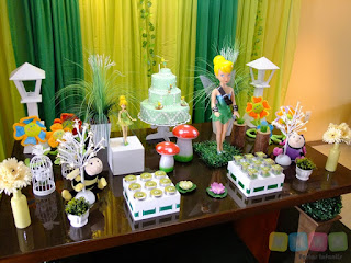 Decoração festa infantil Tinker Bell Sininho