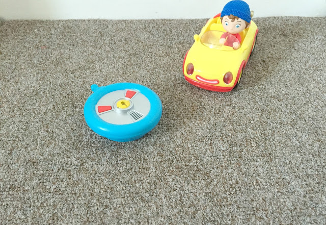 Noddy remote control car out of box