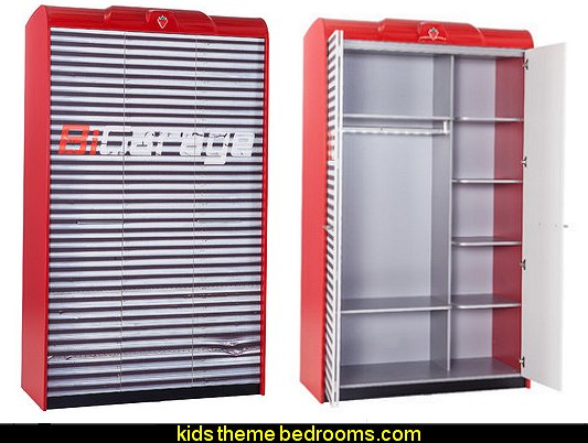 Need for Sleep Garage Slim Armoire