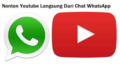 2 Fitur Baru WhatsApp : Merekam Suara Tak Lagi Lama Menahan Tombol  Dan Nonton Youtube Langsung Dari Chat
