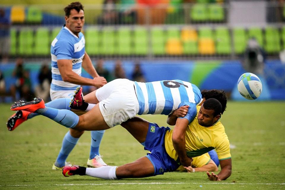 Los Pumas contra Brasil en Ushuaia