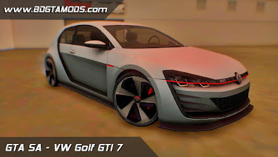 VW GOLF 7 GTI para GTA San Andreas