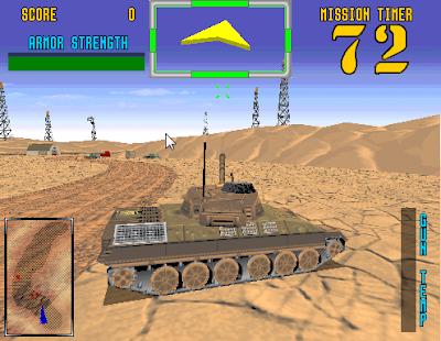 街機:沙漠坦克(Desert Tank),擬真的坦克射擊遊戲!