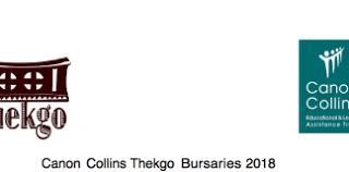 Canon Collins Thekgo Bursaries