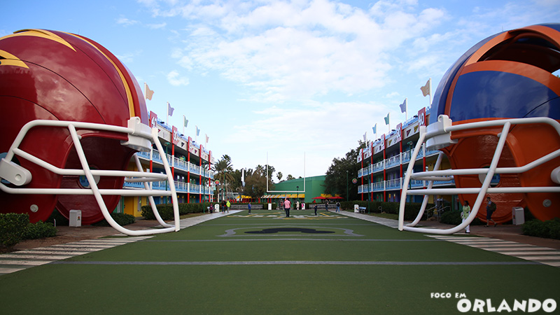 Disney's All Star Sports Resort.