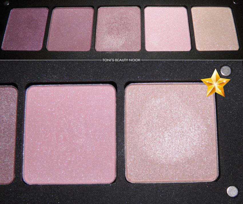 inglot palette amd shine 46