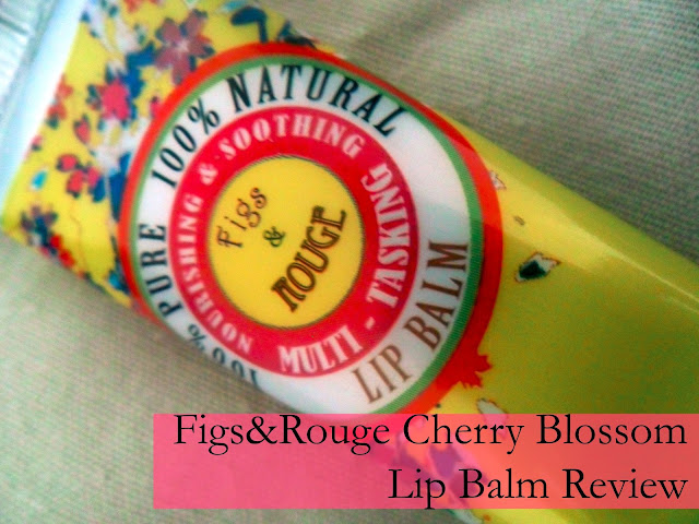 Figs & Rouge Tinted Lip Balm Cherry Blossom