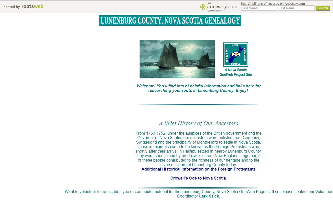 Finding your canadian story nova scotia ancestors lunenburg httprootswebcestrycannslunenburg aiddatafo Gallery
