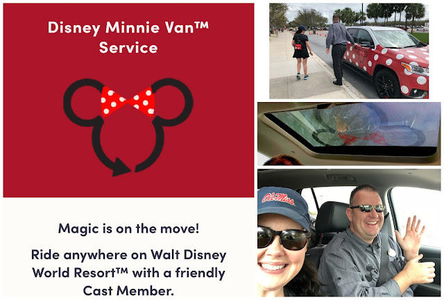 Lyft Disney Minnie Van Service