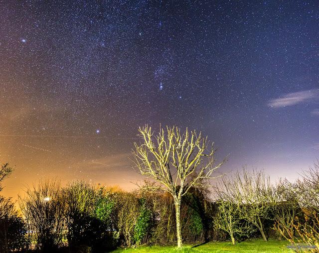 La Voie Lactée en Hiver