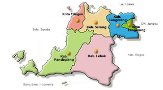 peta banten