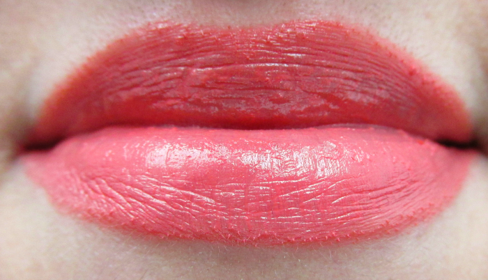Review, Photos, Swatches: glominerals - glo Lipstick Spark - Mineral Makeup