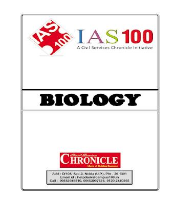 BIOLOGY, IAS, SSC