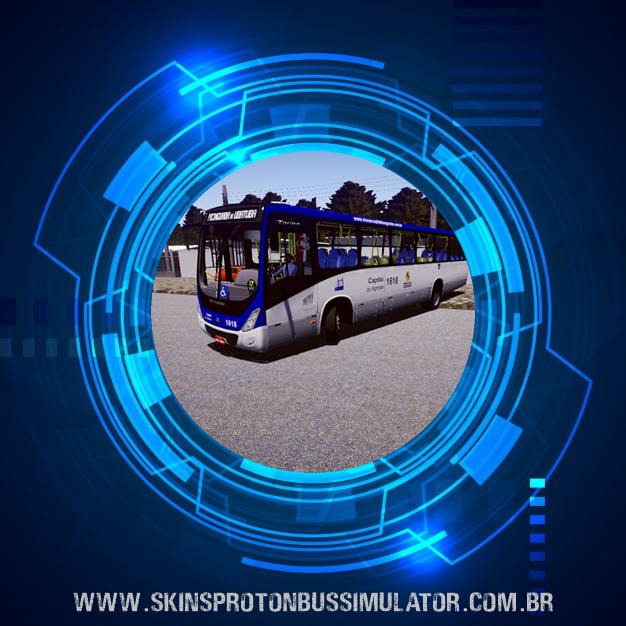 Skin Proton Bus Simulator - Torino 14 MB OF-1721 BT5 Capital do Agreste