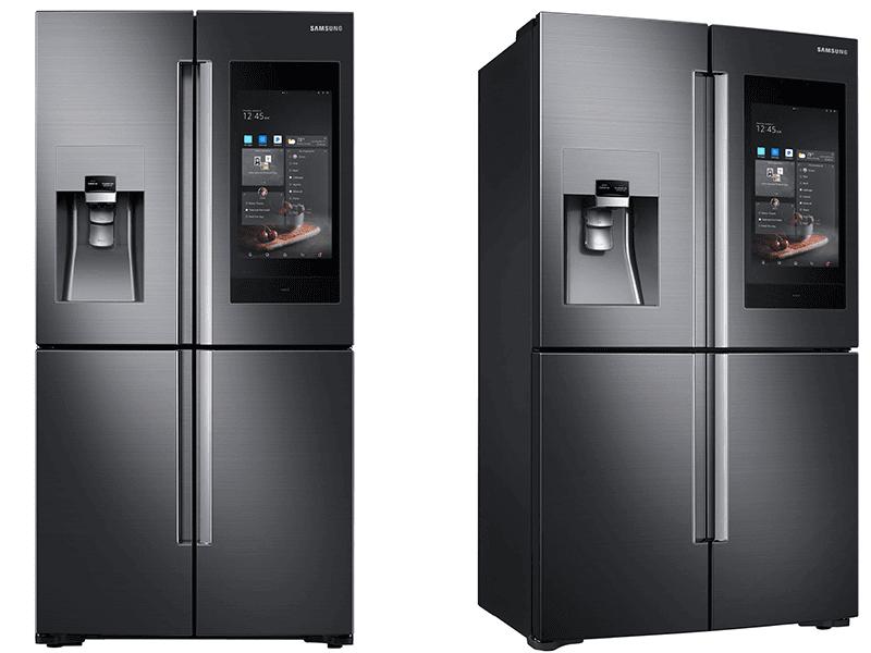 Samsung Unveils Next Gen Family Hub Refrigerator