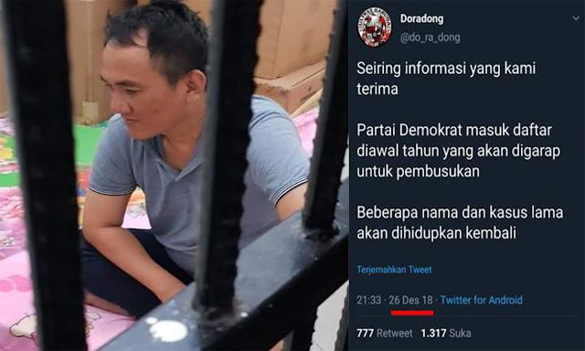 Andi Arief Ditangkap, Twit Lama Prediksi 'Pembusukan' Demokrat jadi Perbincangan