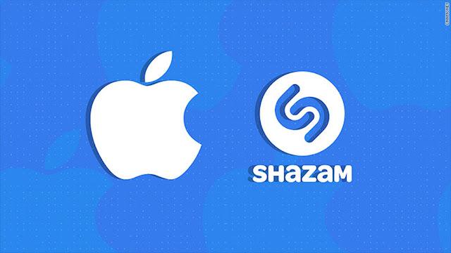 apple compra de manera oficial a la app shazam