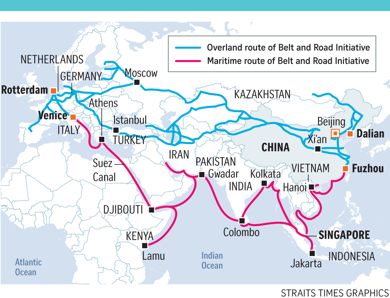 "Képtalálat a következőre: ""china belt and road initiative map"""