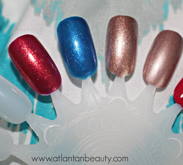 Swatches of Sinful Colors King Kylie Collection