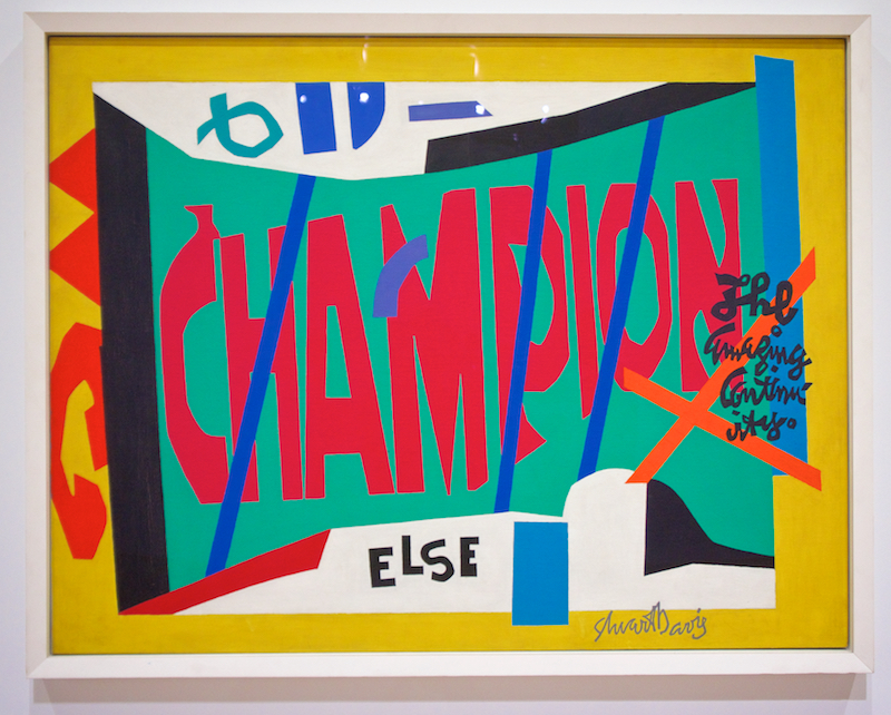 Tomatoes From Canada Stuart Davis At The Whitney