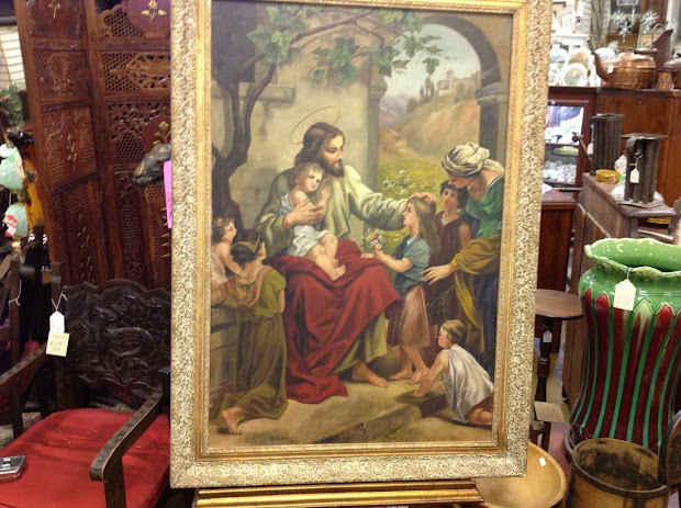 Art Antique Painting Classic Oil Canvas
