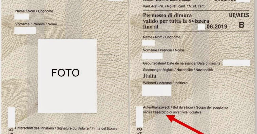 Ettore Accenti - Blog: Svizzera: Permesso di dimora B