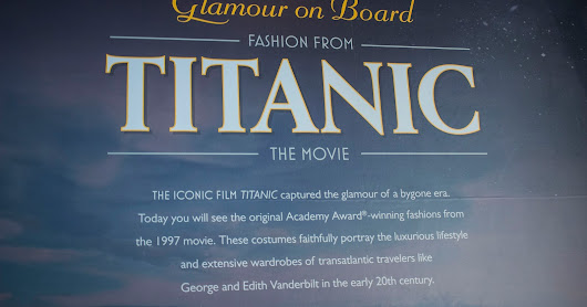 Titanic movie costumes on display at Biltmore