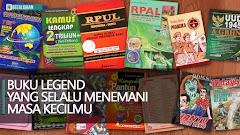 Buku Legend Yang Selalu Menemani Masa Kecilmu
