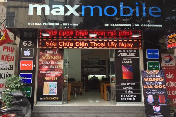 Mua iPhone tại Maxmobile