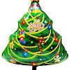 Balon Foil Christmas Tree / Foil Pohon Natal