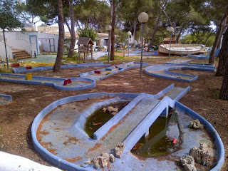 Minigolf course at Vista Alegre in Porto Cristo, Majorca. Photo by Christopher Gottfried, 2015