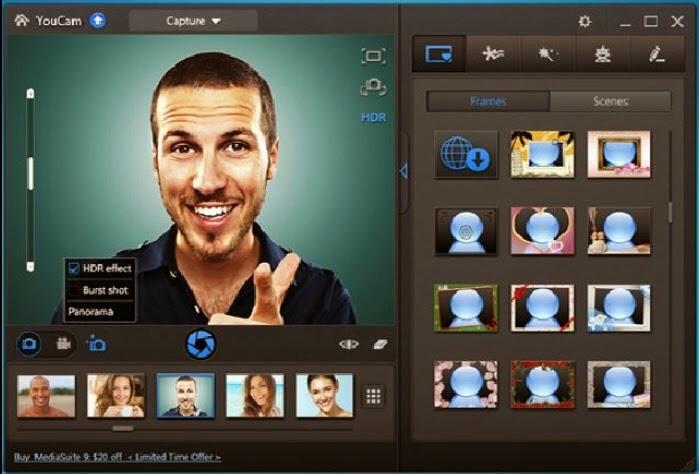 احصل على سريال تفعيل برنامج YouCam 5 لإضافة تأثيرات على صورك وفيديوهاتك