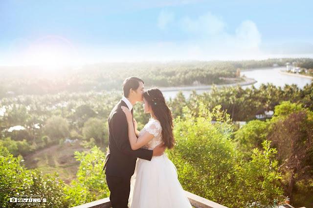 Thị xã Sông Cầu và ảnh cưới lãng mạn
