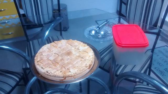 Aventuras na cozinha - Torta de Maçã