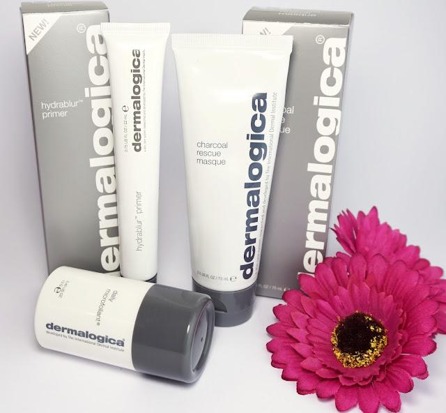 Kosmetik von Dermalogica HydraBlur Primer (Make-Up-Primer) Charcoal Rescue Masque (Gesichtsmaske) Daily Microfoliant (Gesichtspeeling)