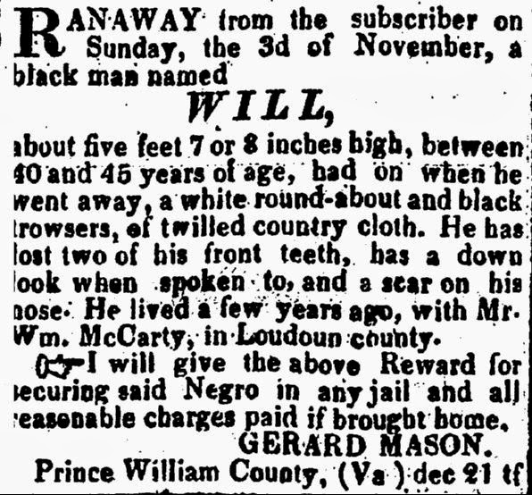 Prince William County Genealogy: Friend of Friends Friday