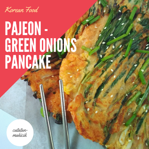 Pajeon - Green Onion Pancake || Korean Food