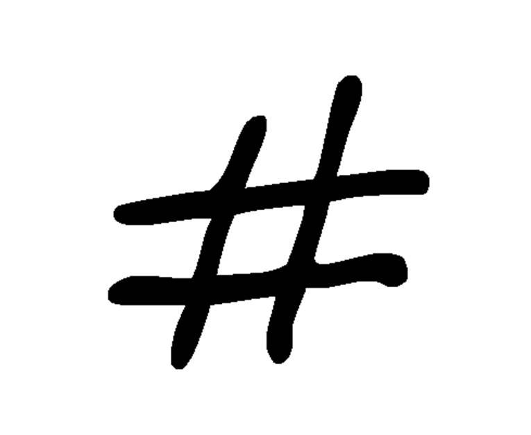 Hashtag Merkki